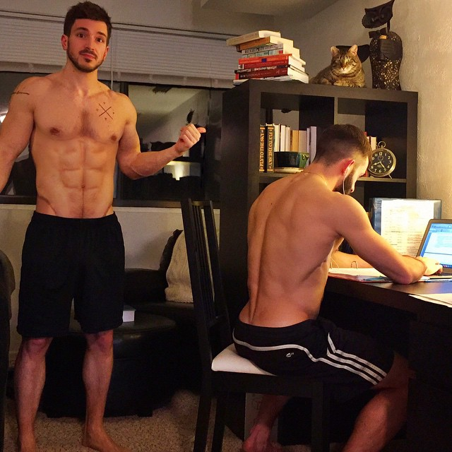 sexy fit naked dudes
